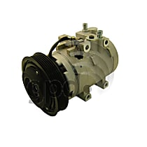 6512200 A/C Compressor Sold individually With clutch, 6-Groove Pulley