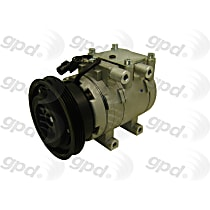 6512201 A/C Compressor Sold individually with Clutch, 4-Groove Pulley