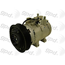 6512202 A/C Compressor Sold individually With clutch, 6-Groove Pulley