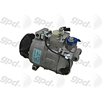 6512217 A/C Compressor Sold individually with Clutch, 6-Groove Pulley