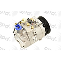 6512219 A/C Compressor Sold individually With clutch, 7-Groove Pulley