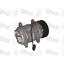 6512225 A/C Compressor Sold individually With clutch, 6-Groove Pulley