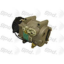 6512257 A/C Compressor Sold individually With clutch, 6-Groove Pulley