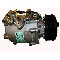 6512266 A/C Compressor Sold individually With clutch, 6-Groove Pulley