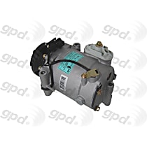 6512269 A/C Compressor Sold individually With clutch, 5-Groove Pulley