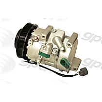 6512276 A/C Compressor Sold individually With clutch, 6-Groove Pulley