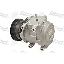 6512280 A/C Compressor Sold individually with Clutch, 4-Groove Pulley