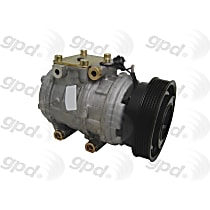 6512282 A/C Compressor Sold individually With clutch, 6-Groove Pulley