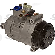 6512302 A/C Compressor Sold individually With clutch, 6-Groove Pulley