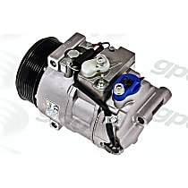 6512303 A/C Compressor Sold individually With clutch, 8-Groove Pulley