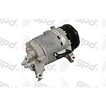 6512306 A/C Compressor Sold individually With clutch, 6-Groove Pulley