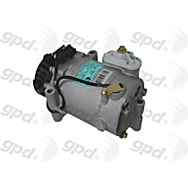 6512311 A/C Compressor Sold individually With clutch, 5-Groove Pulley