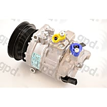6512321 A/C Compressor Sold individually with Clutch, 5-Groove Pulley