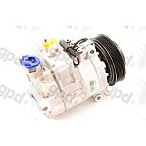 6512352 A/C Compressor Sold individually With clutch, 6-Groove Pulley