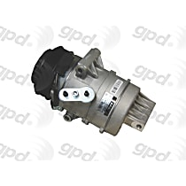 6512378 A/C Compressor Sold individually With clutch, 6-Groove Pulley