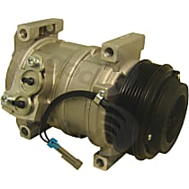 6512383 A/C Compressor Sold individually With clutch, 6-Groove Pulley