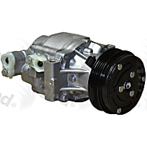 6512425 A/C Compressor Sold individually with Clutch, 4-Groove Pulley
