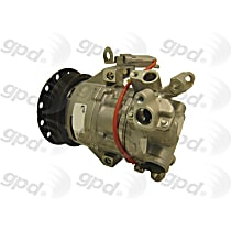 6512481 A/C Compressor Sold individually With clutch, 4-Groove Pulley