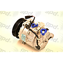 6512486 A/C Compressor Sold individually With clutch, 6-Groove Pulley