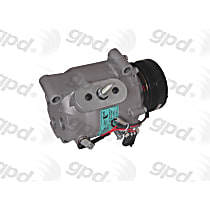 6512511 A/C Compressor Sold individually With clutch, 4-Groove Pulley