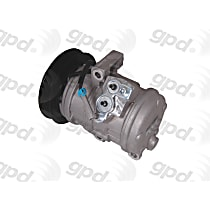 6512517 A/C Compressor Sold individually With clutch, 6-Groove Pulley
