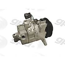 6512541 A/C Compressor Sold individually With clutch, 6-Groove Pulley