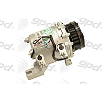 A/C Compressor - Sold individually, Models Without Rear A/C