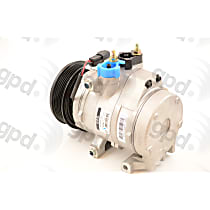 A/C Compressor - Sold individually, FS20, 6 Groove, 4.5 in. Clutch, 4.5 in. Clutch Diameter