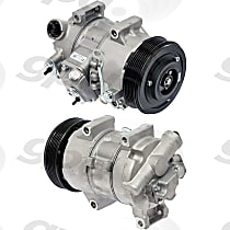 6512634 A/C Compressor Sold individually With clutch, 7-Groove Pulley