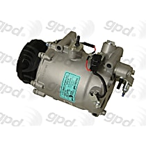 A/C Compressor - Sold individually, 7 Groove, System Contains 2.7oz Pag 46, System Contains 2.7 oz. Pag 46