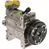 6512647 A/C Compressor Sold individually with Clutch, 4-Groove Pulley