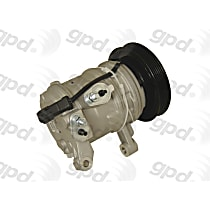 6512656 A/C Compressor Sold individually with Clutch, 6-Groove Pulley