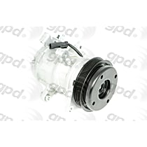 6512705 A/C Compressor Sold individually With clutch, 6-Groove Pulley