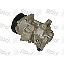 6512719 A/C Compressor Sold individually With clutch, 6-Groove Pulley