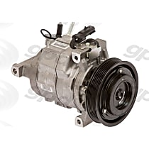 6512725 A/C Compressor Sold individually with Clutch, 6-Groove Pulley