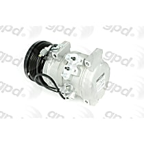 6512732 A/C Compressor Sold individually with Clutch, 8-Groove Pulley