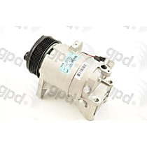 6512742 A/C Compressor Sold individually With clutch, 7-Groove Pulley