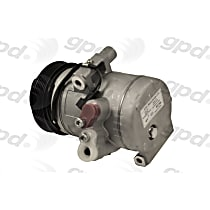 6512761 A/C Compressor Sold individually With clutch, 6-Groove Pulley
