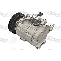 6512781 A/C Compressor Sold individually With clutch, 6-Groove Pulley