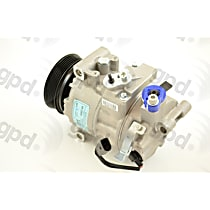 6512804 A/C Compressor Sold individually with Clutch, 6-Groove Pulley