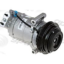 6512805 A/C Compressor Sold individually With clutch, 4-Groove Pulley