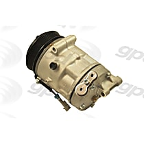 6512806 A/C Compressor Sold individually With clutch, 6-Groove Pulley