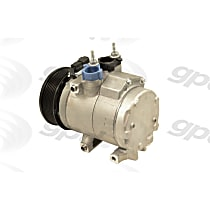 A/C Compressor Sold individually With clutch, 8-Groove Pulley