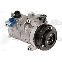 6512905 A/C Compressor Sold individually with Clutch, 4-Groove Pulley