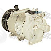 6512914 A/C Compressor Sold individually With clutch, 5-Groove Pulley