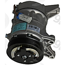 6512916 A/C Compressor Sold individually With clutch, 6-Groove Pulley