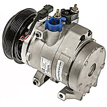 6512919 A/C Compressor Sold individually with Clutch, 6-Groove Pulley