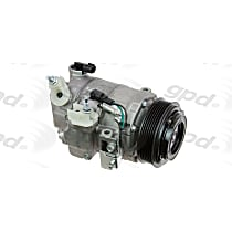 6512997 A/C Compressor Sold individually With clutch, 6-Groove Pulley