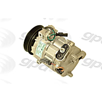 6513010 A/C Compressor Sold individually With clutch, 5-Groove Pulley
