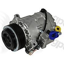 6513067 A/C Compressor Sold individually With clutch, 6-Groove Pulley